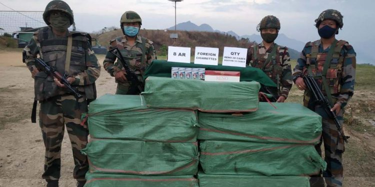 Assam Rifles seizure
