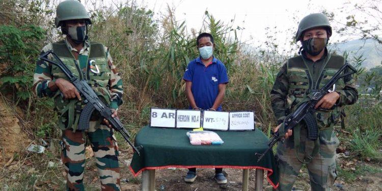 Assam Rifles recovers heroin