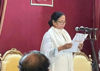 Mamata Banerjee sworn-in as West Bengal CM for third time 2