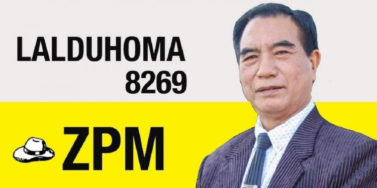Mizoram: ZPM's Lalduhoma wins bye-elections to Serchhip Assembly Constituency 1