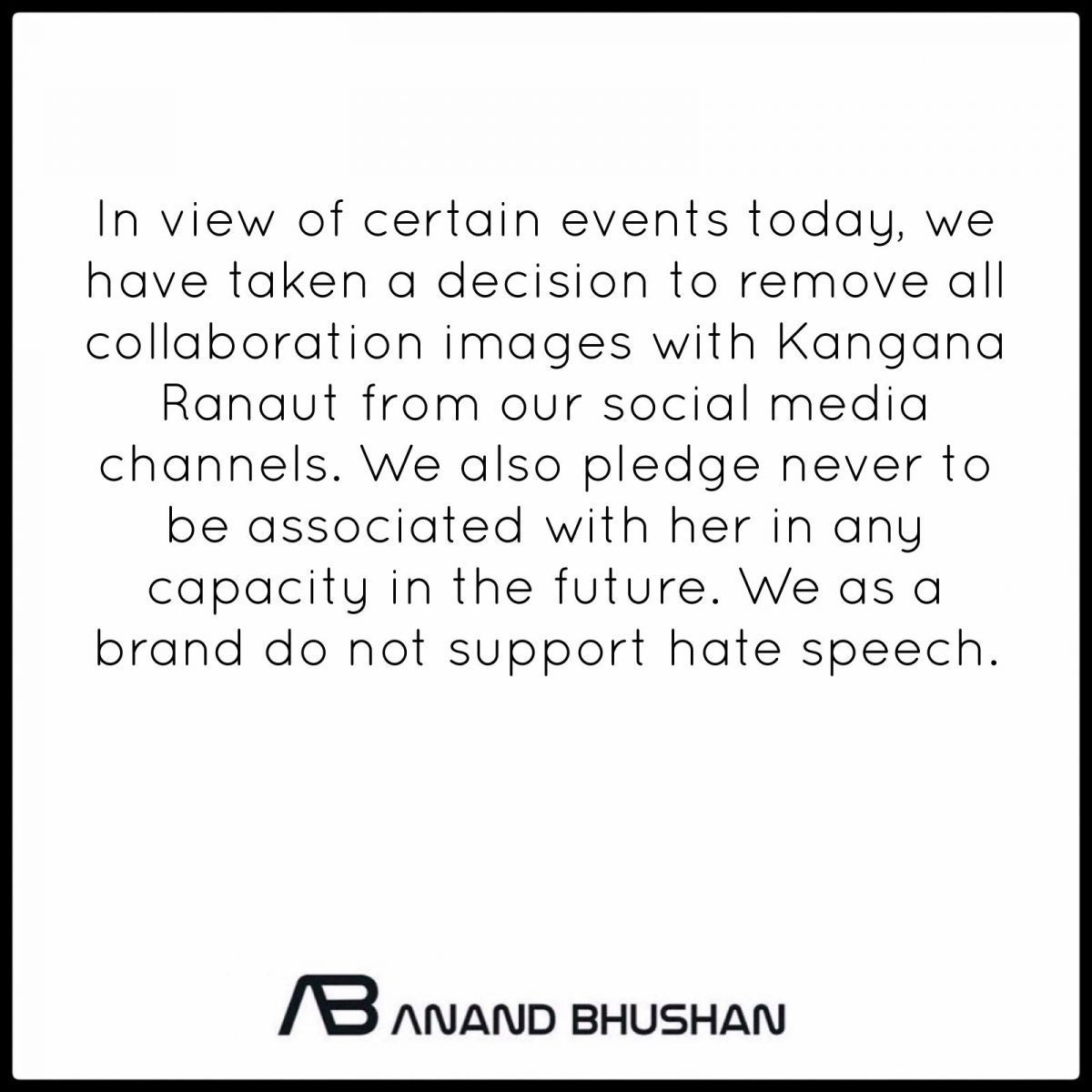 After Twitter ban, two top fashion designers break ties with Kangana Ranaut 1