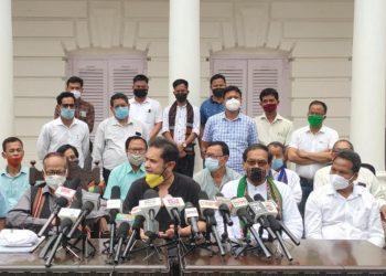 Tripura: INPT merges with Pradyot Deb Barman's TIPRA 3