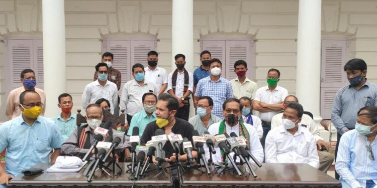 Tripura: INPT merges with Pradyot Deb Barman's TIPRA 1