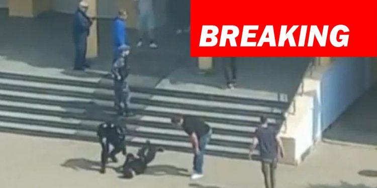 11 killed, scores injured as gunmen open fire at a school in Russia 1