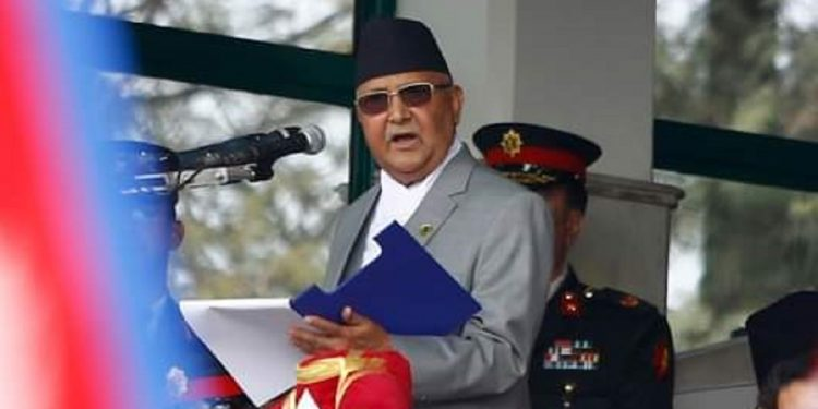 KP Sharma Oli sworn in as Nepal Prime Minister for third time 1