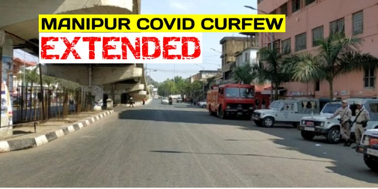 COVID curfew in seven Manipur districts extended with 'limited permitted activities' 1