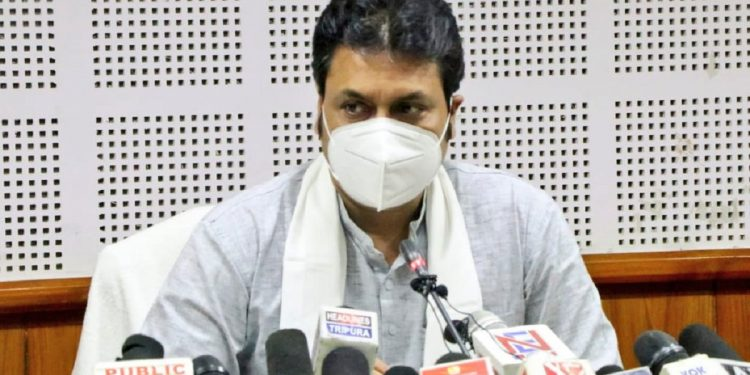 Tripura CM Biplab Deb launches scheme for children orphaned by COVID-19 1