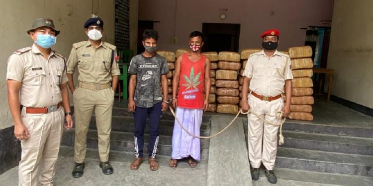 Assam: Over 570 kgs of ganja worth Rs 1 crore seized by police in Kokrajhar 1
