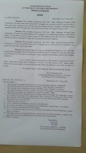After refusal to obey transfer order, Assam forest department releases Additional PCCF Anindya Swargowari from Kokrajhar 4
