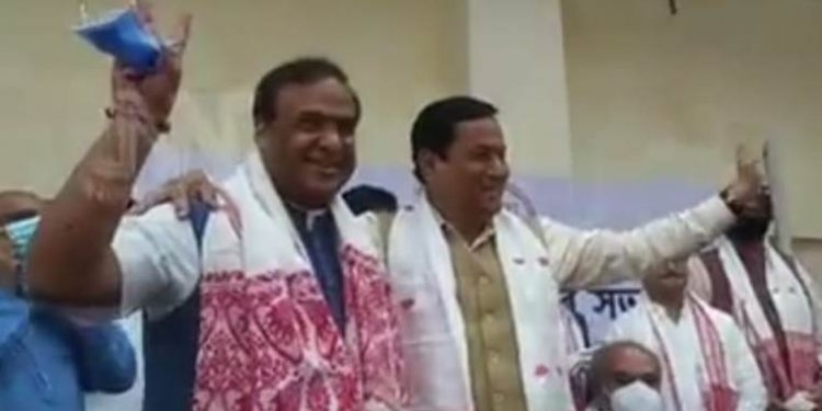 Himanta Biswa Sarma name was proposed by incumbent chief minister Sarbananda Sonowal in the meeting of the newly-elected MLAs.