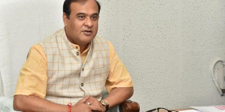 CM Himanta Biswa Sarma.