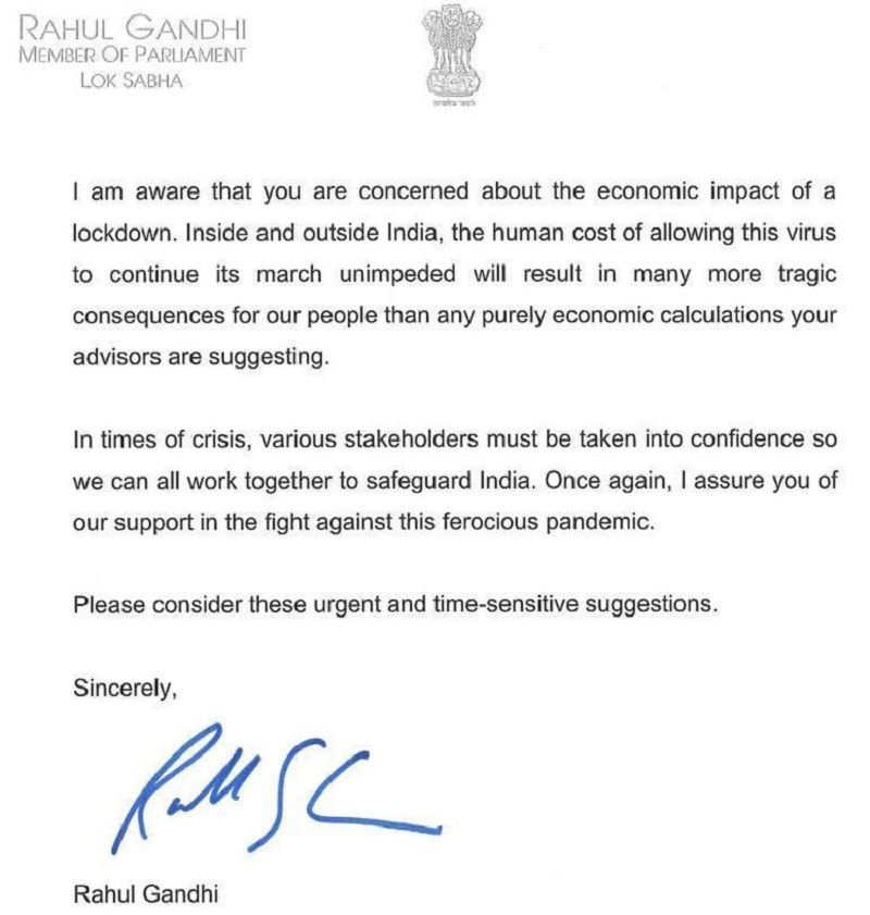 COVID-19 crisis: Nationwide lockdown inevitable, Government placed India in dangerous position, says Congress leader Rahul Gandhi 7