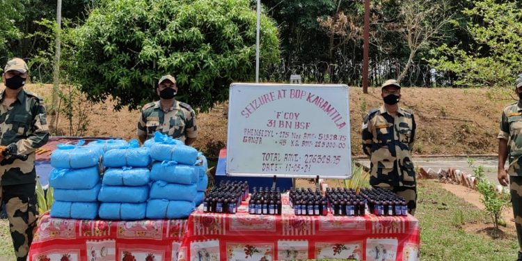 Tripura: BSF seizes contraband items worth Rs 2.76 lakh 1