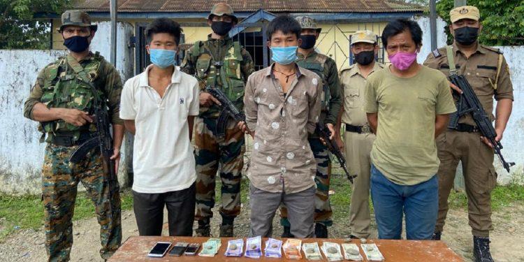 Arunachal Pradesh: One NSCN-KYA over ground worker, 2 linkmen nabbed by Army in Tirap 1
