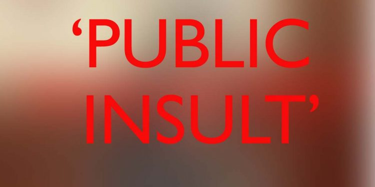 Public Insult