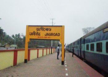 Jagiroad railway station