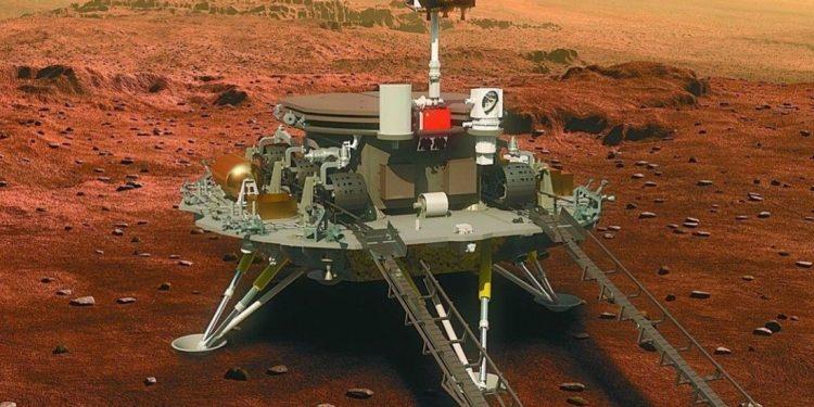 China successfully lands Mars rover Zhu Rong 1