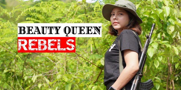 Burmese beauty queen turns rebel, vows to bring down Myanmar military junta or die fighting 1