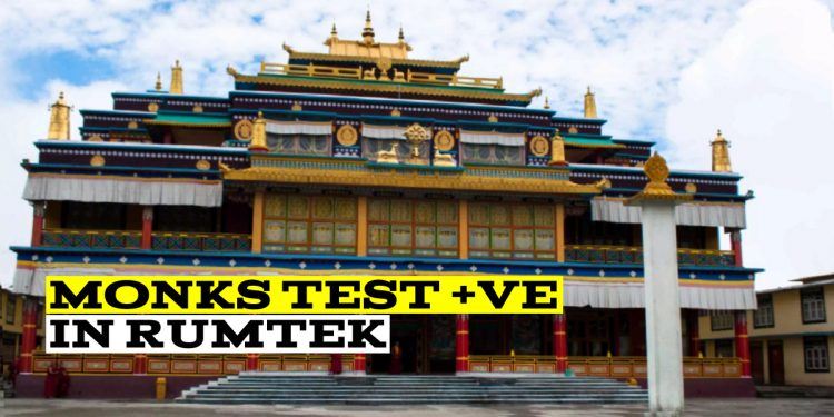 Nearly 100 monks in two Sikkim monasteries test COVID-19 positive 1
