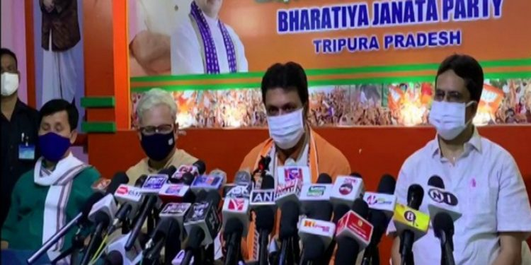Mamata Banerjee should not become CM of West Bengal as she lost in Nandigram, says Tripura CM Biplab Deb 1