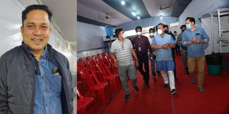NHM Assam office manager Badan Das dies of COVID-19 1