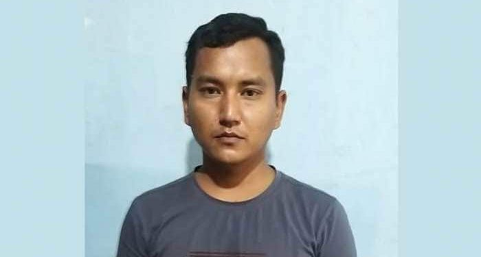 PLA militant Mayanglambam Siromani.