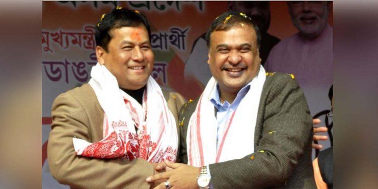 Sarbananda Sonowal and Himanta Biswa Sarma