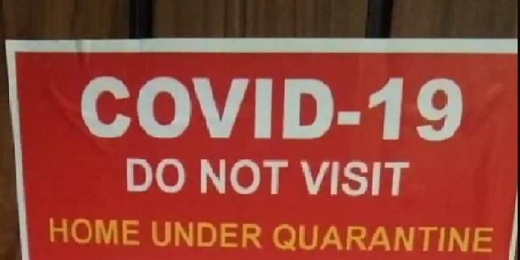 Assam: Authorities to paste posters outside residences of COVID-19 patients 1