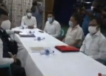 Assam Accord minister Atul Bora visits AASU office, assures implementation of Clause 6 1