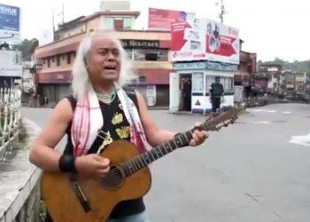 'Tambourine Man' of Northeast Lou Majaw celebrates Bob Dylan's birthday 1