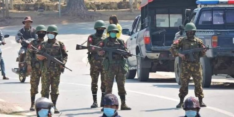 Myanmar military takes control of rebel town of Mindat, Chinland near border with India 1