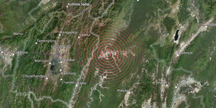 Manipur: 4.3 magnitude earthquake hits Ukhrul 1