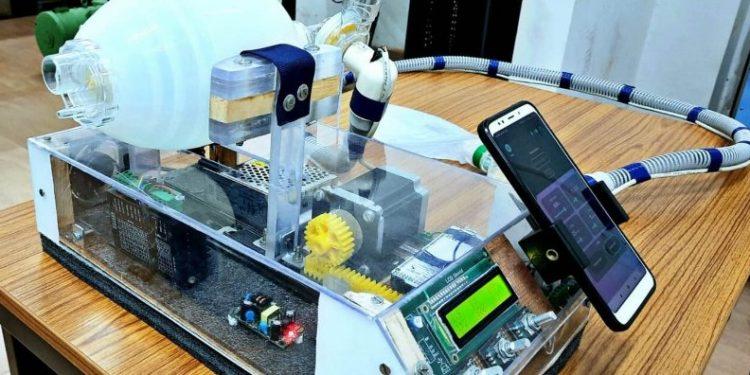 Assam: Tezpur University students develop portable ventilator to fight Covid-19 1
