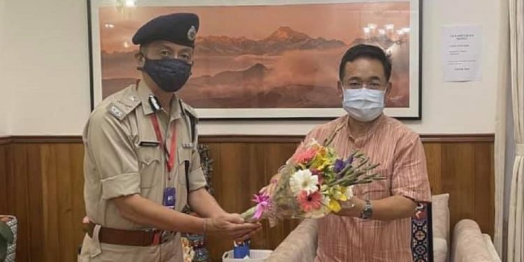 Sikkim gets first IGP from State Police Service 1