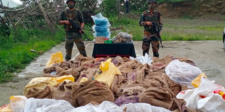 Mizoram: Assam Rifles troopers avert major tragedy, 3925 detonators and over 1 ton of explosives recovered 1