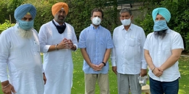 Rebel AAP MLAs meet Rahul Gandhi, announce merger of outfit with Congress 1