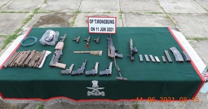 Manipur: Assam Rifles recovers huge cache of arms, ammunition in Imphal 1