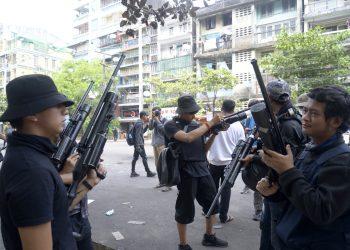 LOOK EAST PLEASE   Armed civilian resistance in Myanmar on rise 5