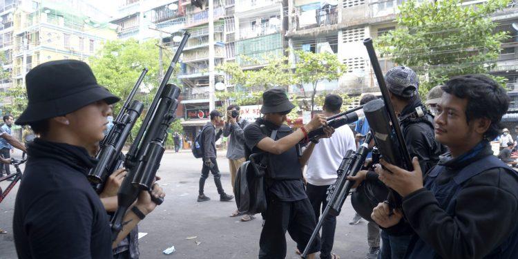 LOOK EAST PLEASE | Armed civilian resistance in Myanmar on rise 1
