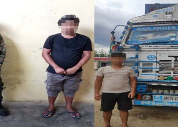 Assam Rifles rescues driver