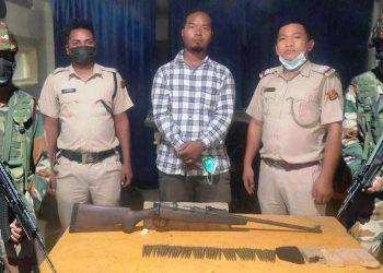 Assam Rifles nabs 1