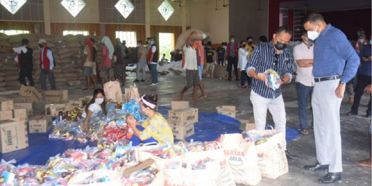 Nagaland: Distribution of relief package to daily wage earners launched in Dimapur 1