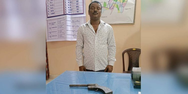 Darrang Police arrest criminal
