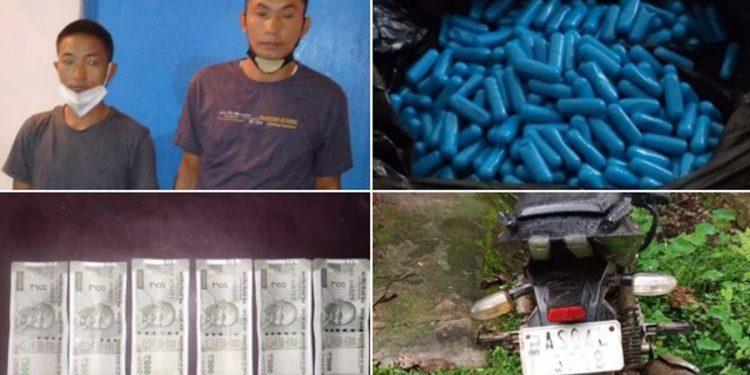 Drug peddlers arrested by Sivasagar Police