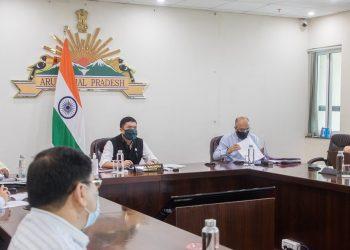 Arunachal Pradesh CM Pema Khandu reviews State's flood preparedness during monsoon 1