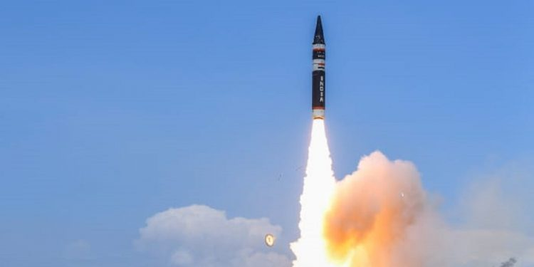 DRDO successfully test-fires new generation Agni P nuclear capable ballistic missile 1