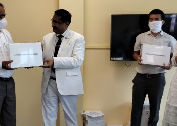 Arunachal Pradesh: Laptops distributed to RGU teachers to promote e-teaching in times of pandemic 1