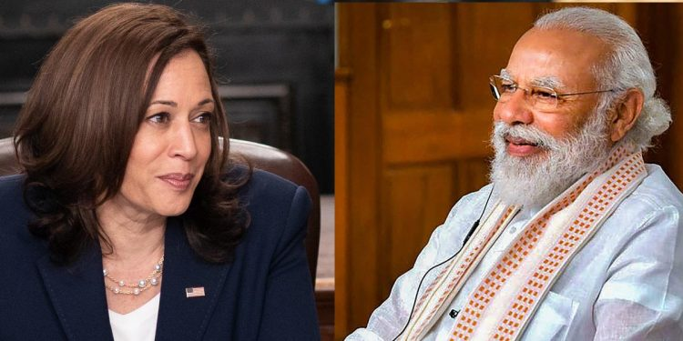 Kamala Harris Narendra Modi