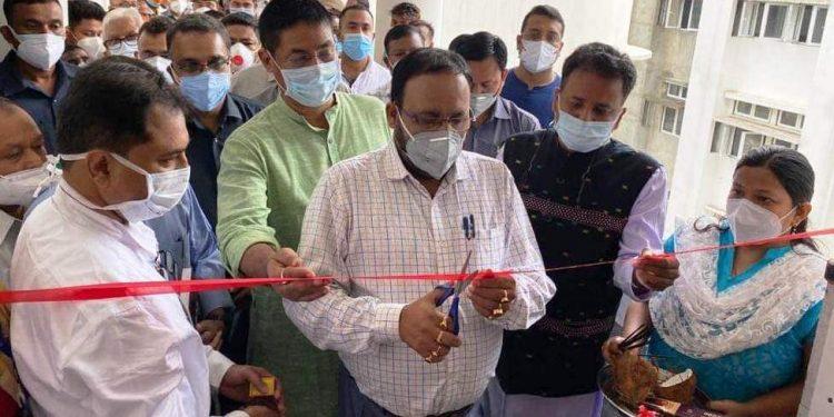 Covid-19 testing: Assam health minister Keshab Mahanta inaugurates virology lab at Lakhimpur Medical College 1