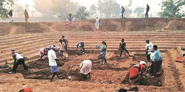 MGNREGA/MGNREGS works in Assam: An Overview 1